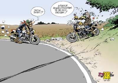 Humour moto 1 - Image drole de motard ...